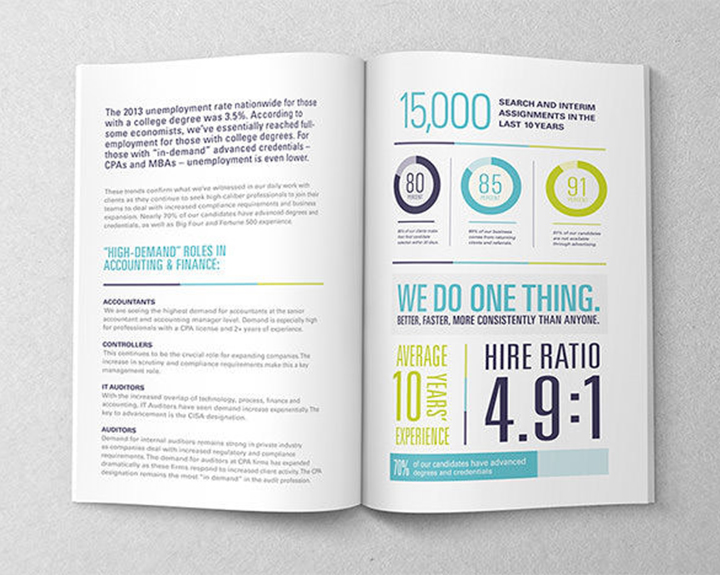 Brandbusters Annual Report Design Example 2