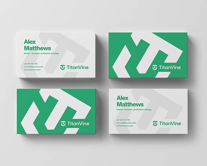 Brandbusters Business Card Design Example 2