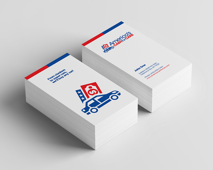 Brandbusters Business Card Design Example 3