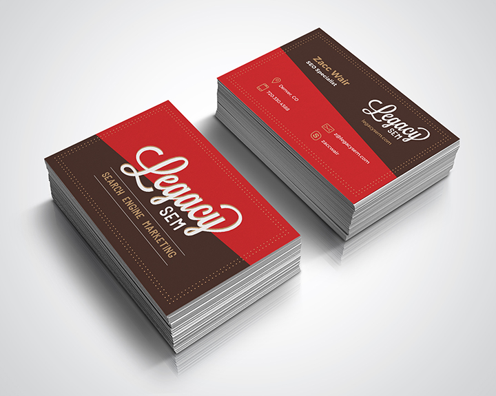 brandbusters business card design
