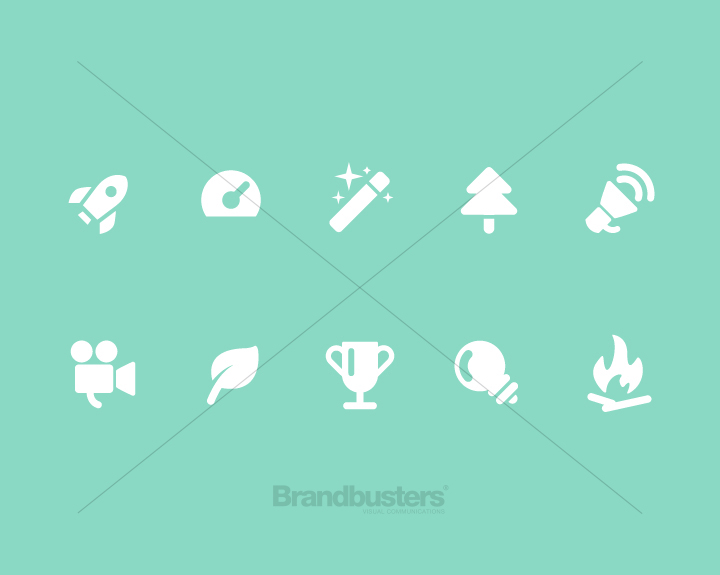 Brandbusters Icon Set Design Example 2