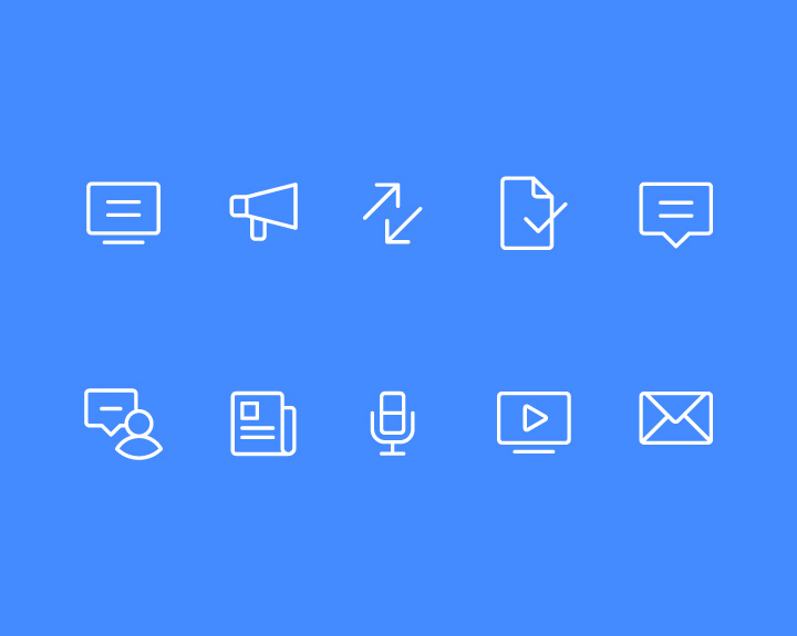 Icon Set Design Examples